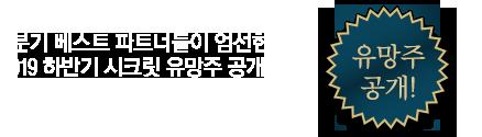 2019 와우넷 2분기 베스트 파트너_