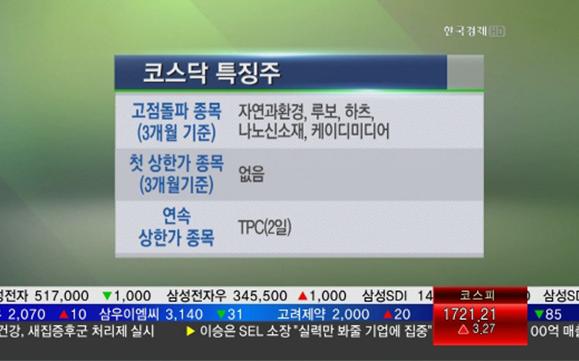 한국경제TV 방송 시청 설명돕기위한 예시