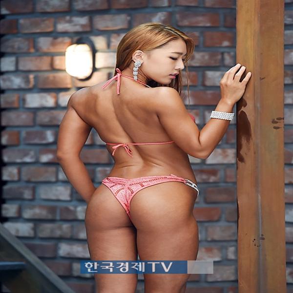 [포토]머슬마니아 박민혜, 숨막히는 뒤태