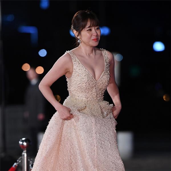 [포토] 최강희, '이런 노출 처음이야~'(KBS 연기대상)