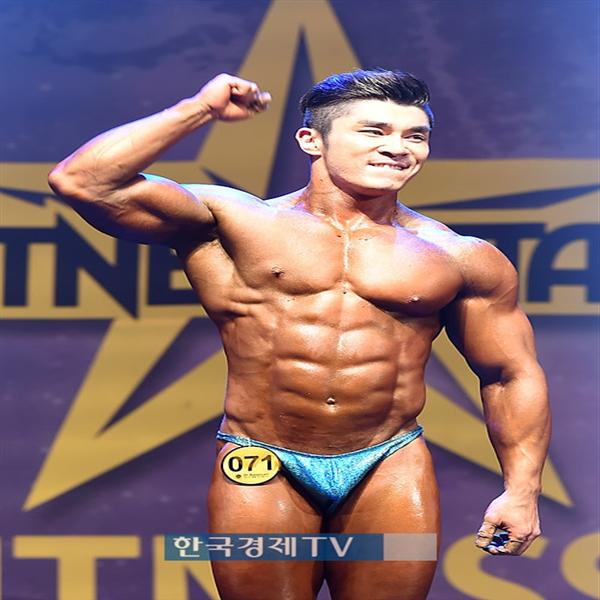 [포토]김일환 `피트니스 스타, 머슬 그랑프리 했어요!`