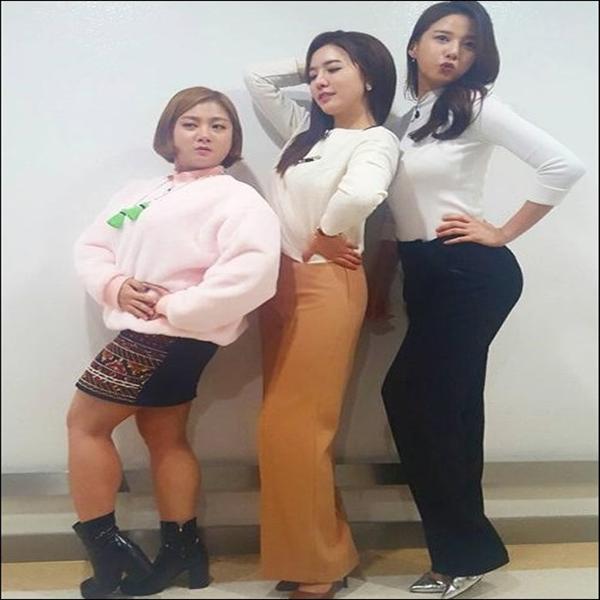 힐링캠프 박나래, 정지원, 레이 `코믹 포즈` 눈길