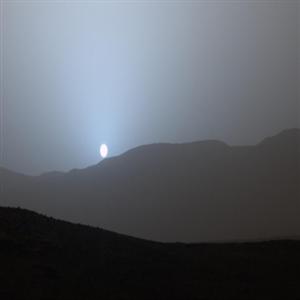 화성,일몰,이미지,일출