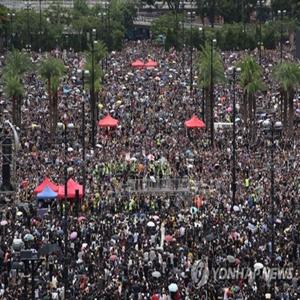 시위,집회,홍콩,경찰,송환법,평화,반대,시위대,이날,우려