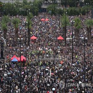 시위,집회,홍콩,경찰,평화,시위대,송환법,이날,반대,우려