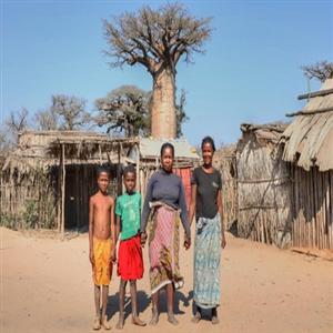 마다가스카르,오지,사진,주민,가족사진