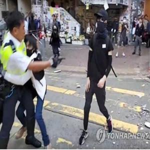 경찰,홍콩,시위,시위대,실탄,이날,시위자,중국,진압,지역