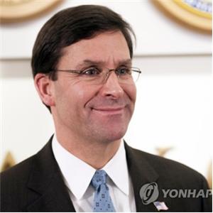 북한,조정,미국,장관,스퍼,추가,훈련,언급,대해,방위비