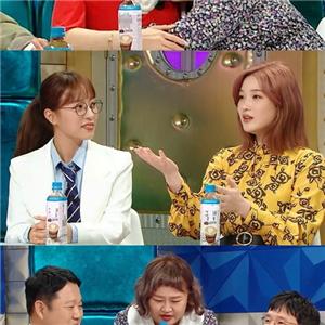 홍윤화,봉태규,여인천하,율희,임현주,박해미,가운데