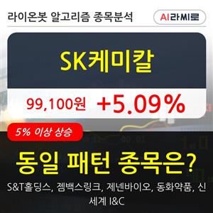 SK케미칼,기관,주가,순매매량