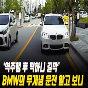 BMW,차량,역주행