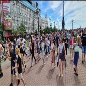 시위,주지사,하바롭스크,항의,시내,가두행진,수사