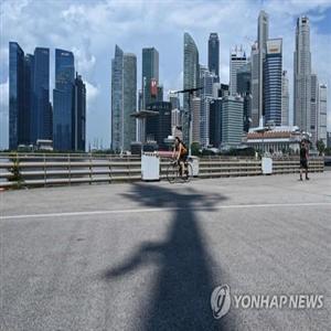 싱가포르,분기,대비,경제