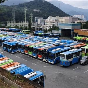 파업,시내버스,창원시