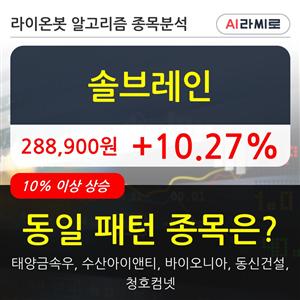 솔브레인,상승,주가,000주