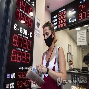 터키,달러,가치,중앙은행,위해,리라화
