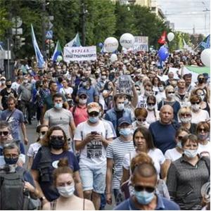 시위,주지사,하바롭스크,체포