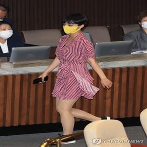 의원,여성,복장,한국,온라인,국회