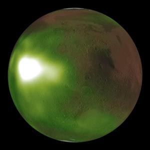 화성,대기,자외선,질소,현상,밤하늘