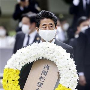 아베,총리,질문,회견,이날,기자회견,나가사키,일본,히로시마