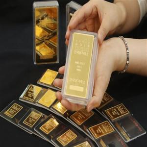 골드바,금값,방문,구매,위해,한국금거래소,상승
