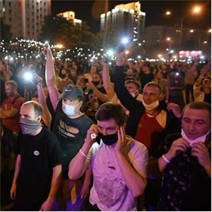 시위,놉스카야,벨라루스,대선,리투아니아,경찰,출국,결과,동영상,저녁