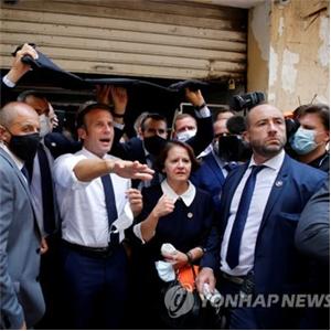 레바논,이란,대통령,프랑스,지원,마크롱