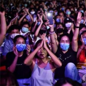 왕실,총리,태국,집회,반정부,대한