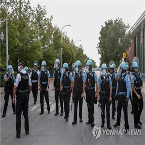 시카고,경찰,흑인,도심,이번,시위,행진