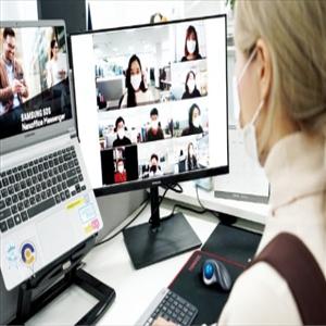 삼성,재택근무,직원,코로나19,업무,디지털,삼성전자,임직원,브리티웍스,회의
