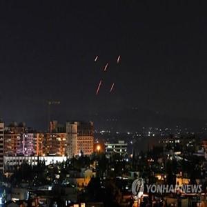 시리아,이스라엘,미사일,격추