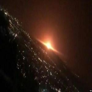 이란,폭발,트럭