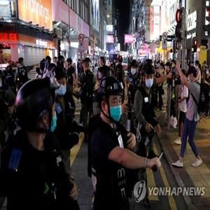 경찰,체포,시위,홍콩,소녀,시위대