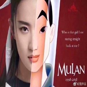 중국,뮬란,보도