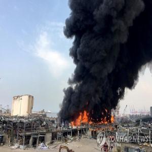 화재,베이루트,항구,레바논,창고