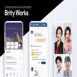 브리티웍스,삼성,기업