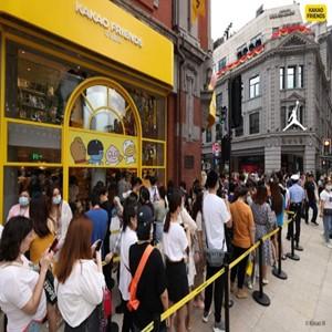 매장,중국,카카오,상하이,카카오프렌즈,사업,현지,오픈,캐릭터,기업