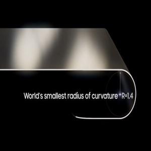 폴더블,1.4R,삼성디스플레이
