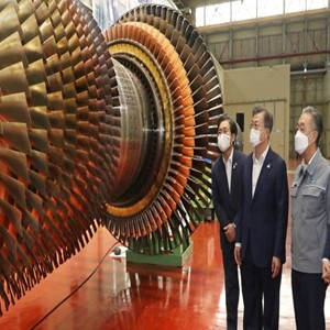 두산중공업,가스터빈,대통령,에너지,개발,정책
