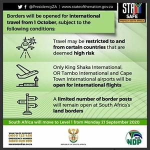 코로나19,남아공,대통령,이하,라마포사,운항,국경