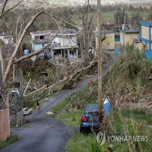 푸에르토리코,트럼프,대통령,대선,복구,피해,지원,허리케인