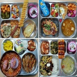 급식,김민지,랍스터,메뉴