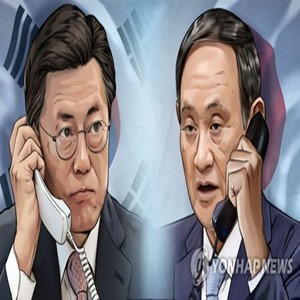 스가,총리,한일,대통령,내각,한국,문제,축하