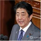 일본,아베,관련,총리,정부,참석,평창올림픽,합의