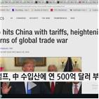 기술주,페이스북,무역전쟁,애플,트럼프,대통령,중국,미국,대해