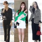 패션,블랙,선미,수지,공항패션,김소현,스타일링