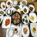 대통밥,담양,대나무,음식,식당,정식,대표,대통,정도,사용