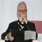 대주교,갤러거,한국,교황청,한반도,평화