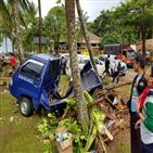 쓰나미,해변,피해,인도네시아,지역,해협,해안,발생,규모,잔해