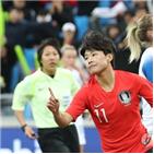 한국,대표팀,아이슬란드,월드컵,지소연,페널티